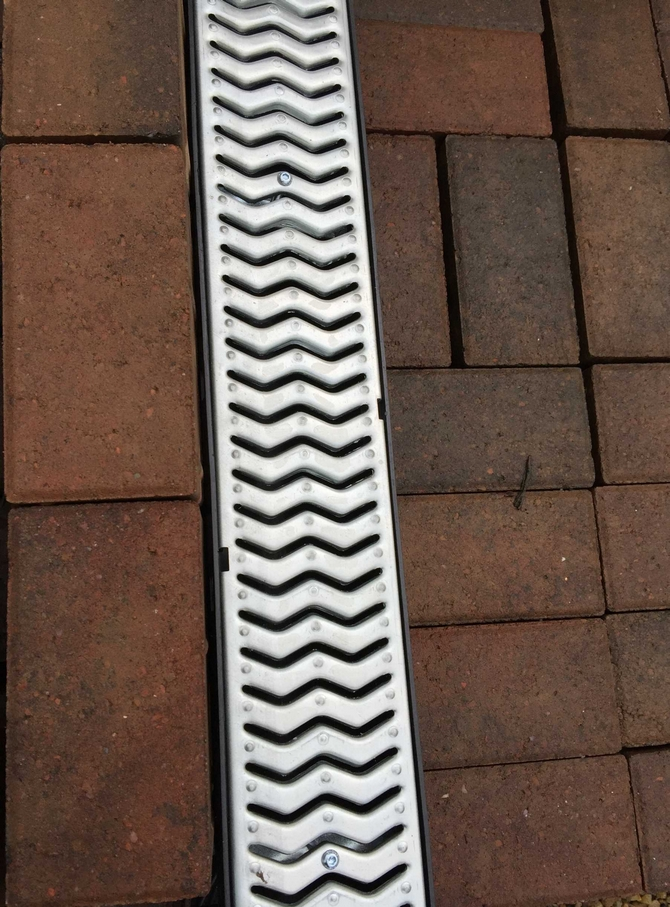 Channel Drainage For Patios: Linear Channel Drainage