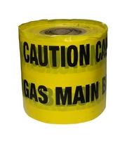 Gas Yellow Warning Tape