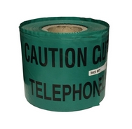 Telephone Cable Green Warning Tape