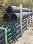 Twin Wall Land Drainage (Black)